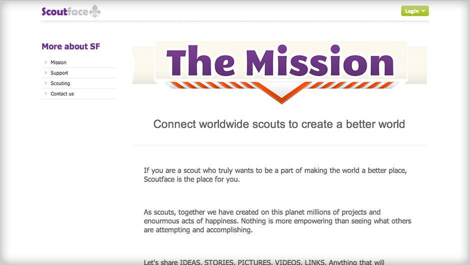 Screenshots of Scoutface